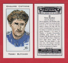 England Terry Butcher Ipswich Town 28